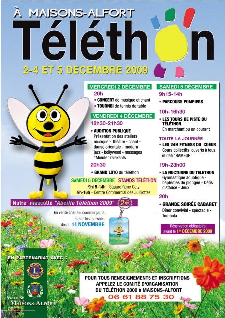 Affiche Téléthon 2009