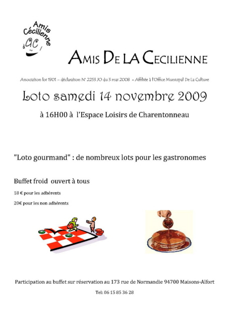 loto du 14 novembre 2009