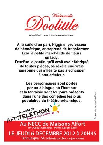Doolittle - résumé-de-la-pièce
