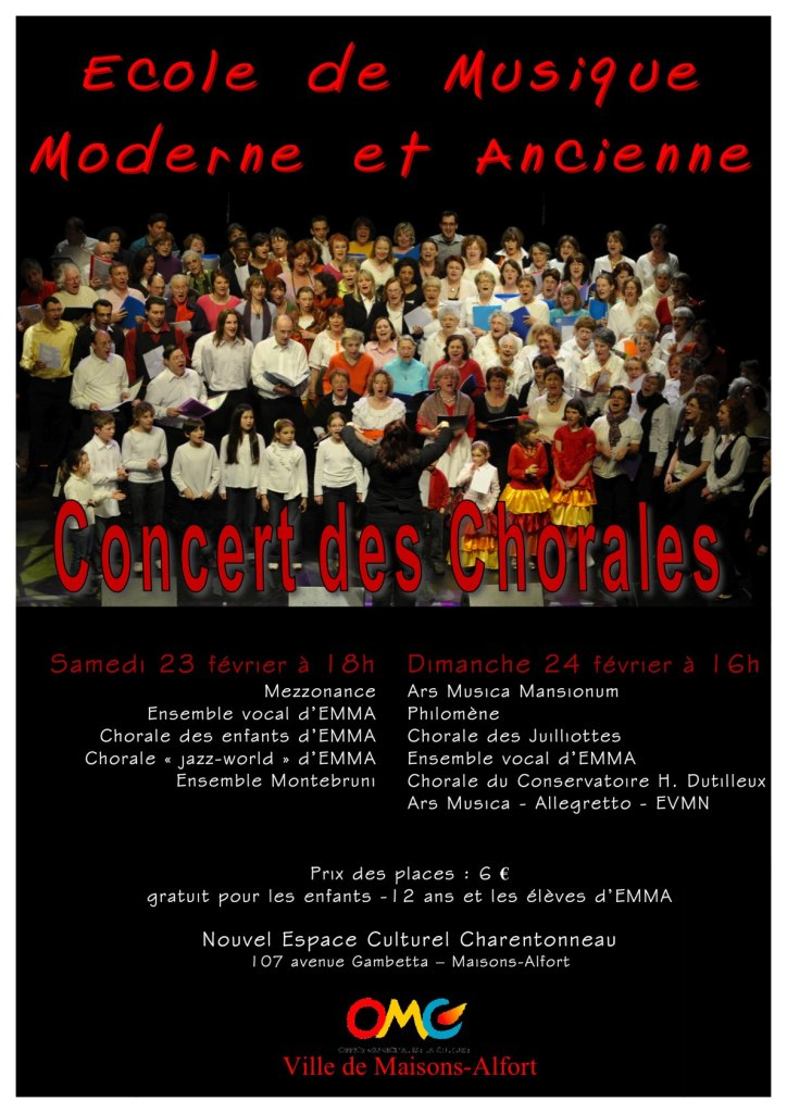 Affiche chorales13