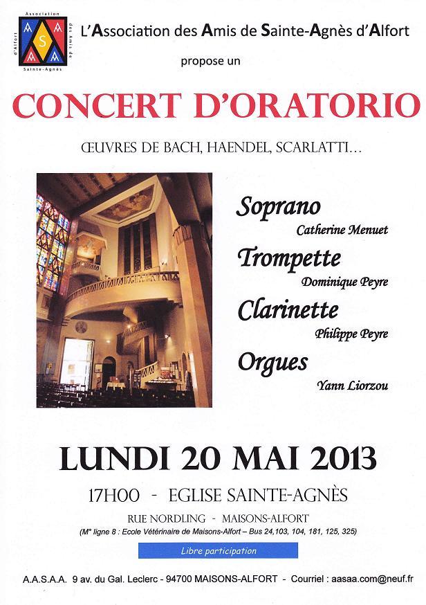 Affiche concert du 20-05-13