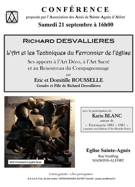 Affiche conférence du 21-09-2013