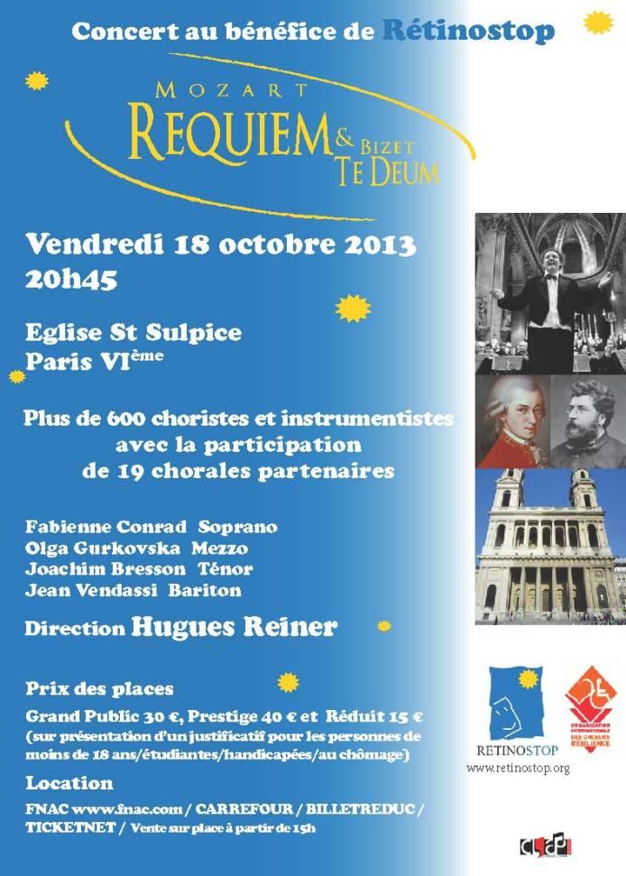 Concert Flyer Rétinostop