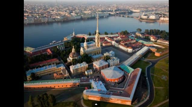 St Petersburg en dirigeable