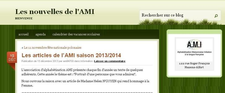 AMI Saison 2013-14