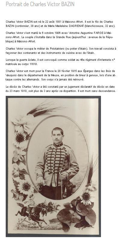 BAZIN Charles Victor