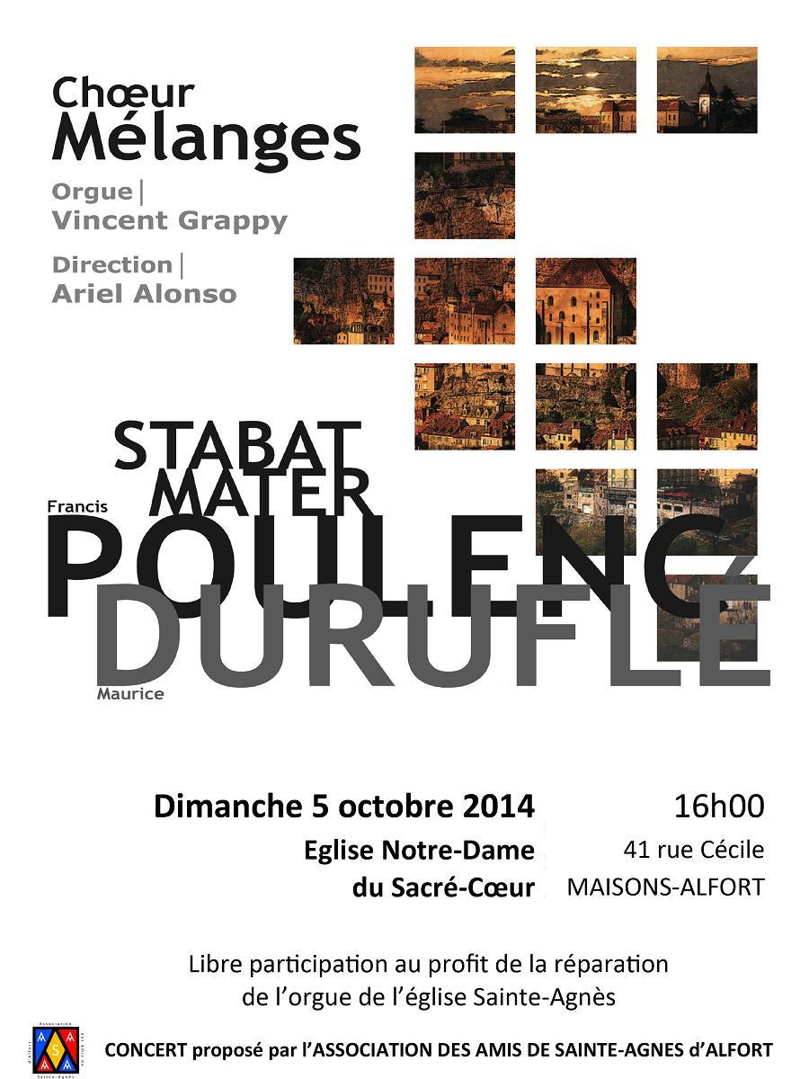 Affiche Mélanges 5oct 2014