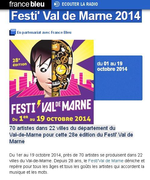 Festi Val -de-Marne 2014