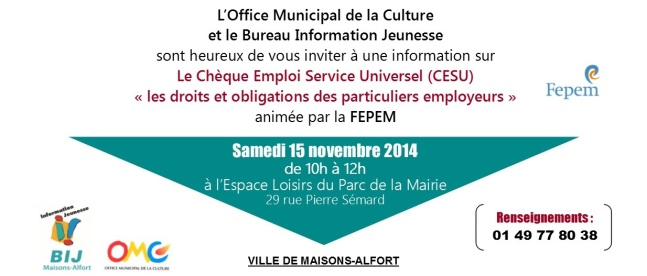 invitation CESU 2014-11-15
