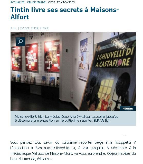 Tintin Médiathèque