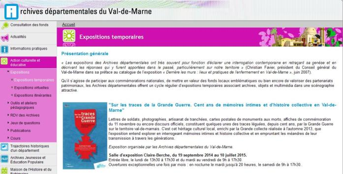 VDM exposition temporaire