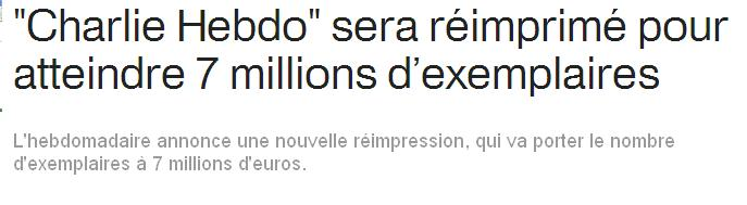 Charlie 7 millions