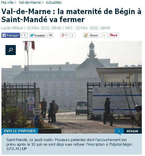Maternité Begin