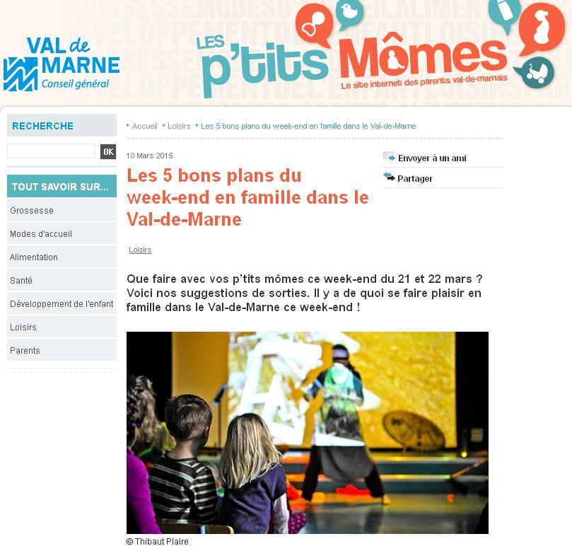 21 et 22 mars en Val-de-Marne