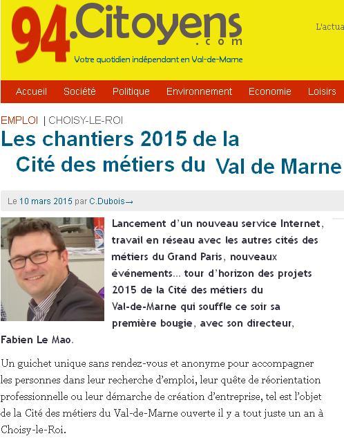 Cité des métiers du Val-de-Marne
