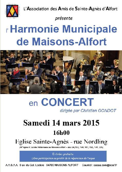 Harmonie Municipale 14-03-2015
