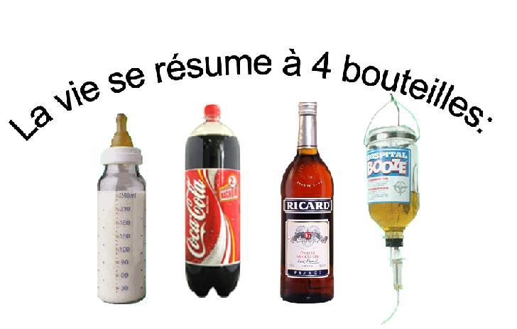 La vie en 4 bouteilles