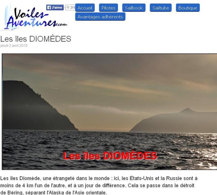Les iles diomedes