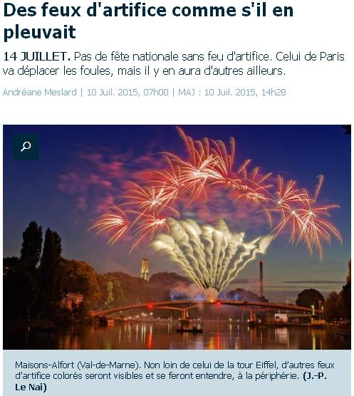 Feux d'artifice 2015 à MA