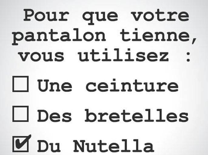 Du Nutella