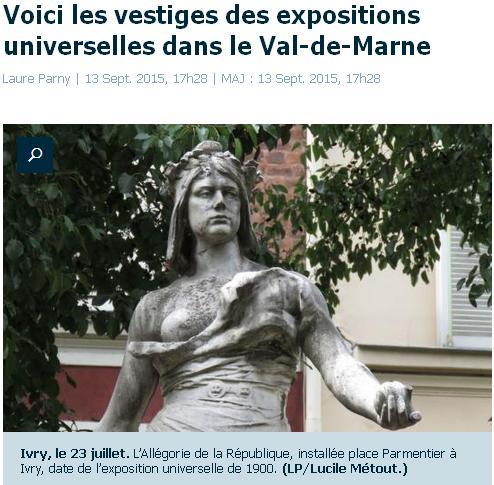 Vestiges des expos en Val-de-Marne