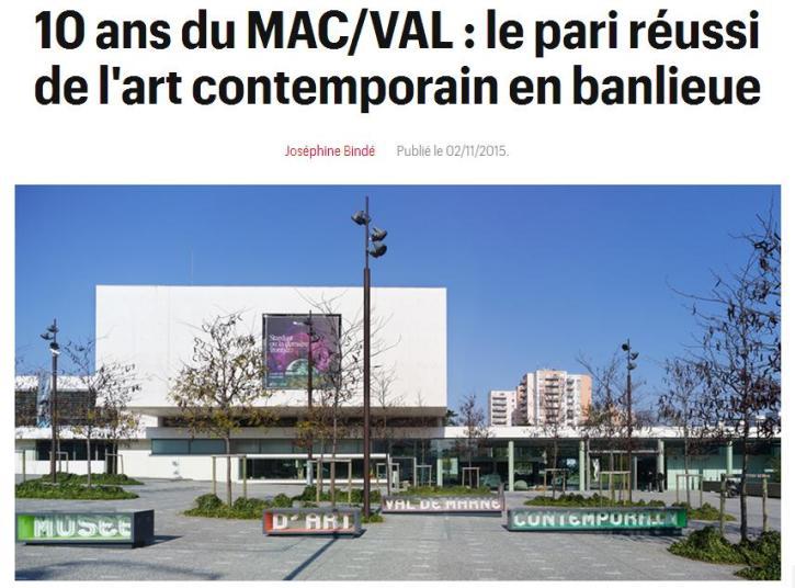 10 ans du MAC-VAL