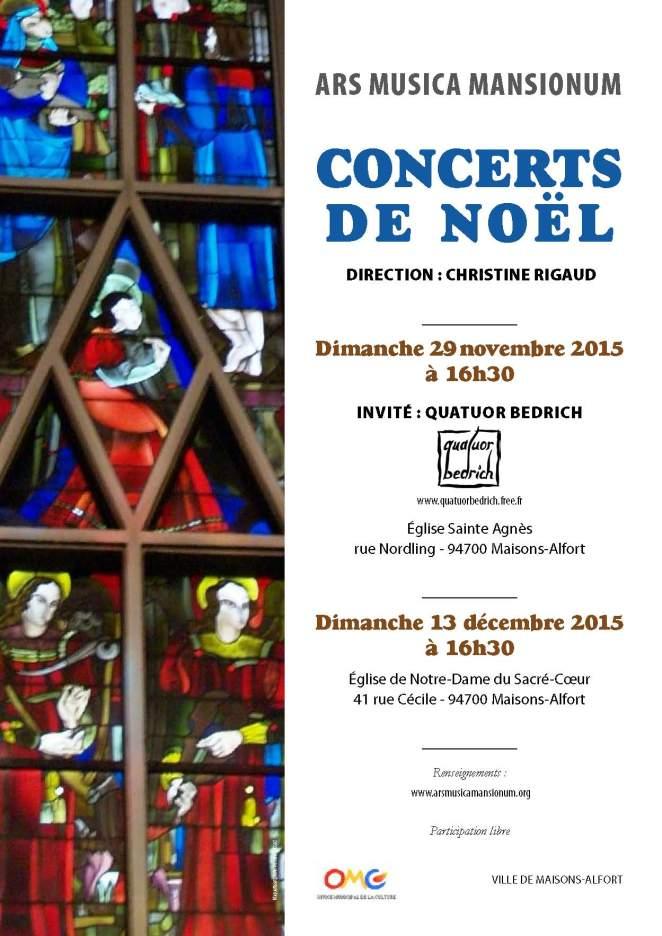 Ars Musica affichette concert noel A4 coul