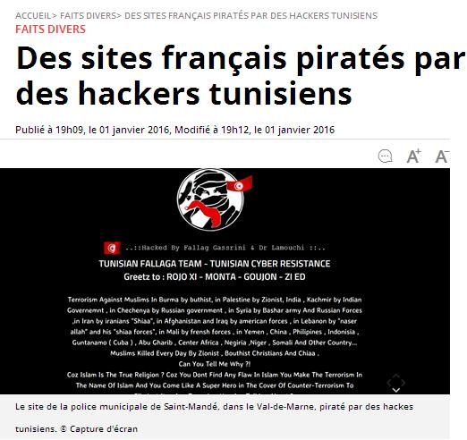 Piratage tunisien