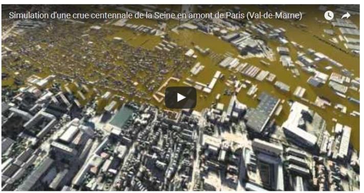 Crue centennale en Val-de-Marne