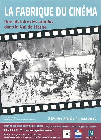 Expo Nogent 2016 Fabrique du cinéma