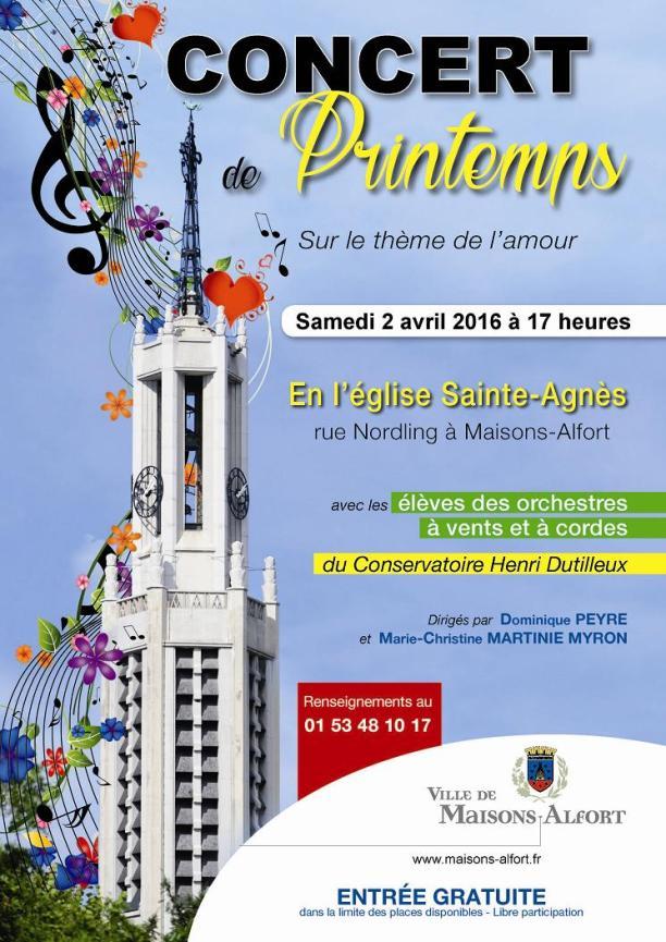 Aff. Concert Ste Agne`s