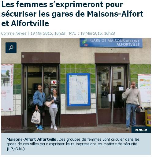 RER MA et Alfortville