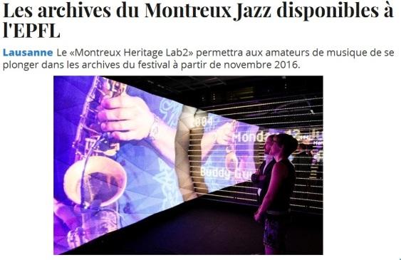 Montreux les Archives