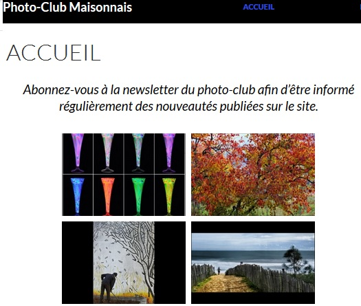Photo club Maisonnais