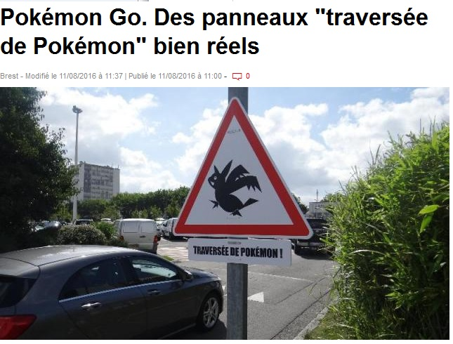 Traversee de pokemon