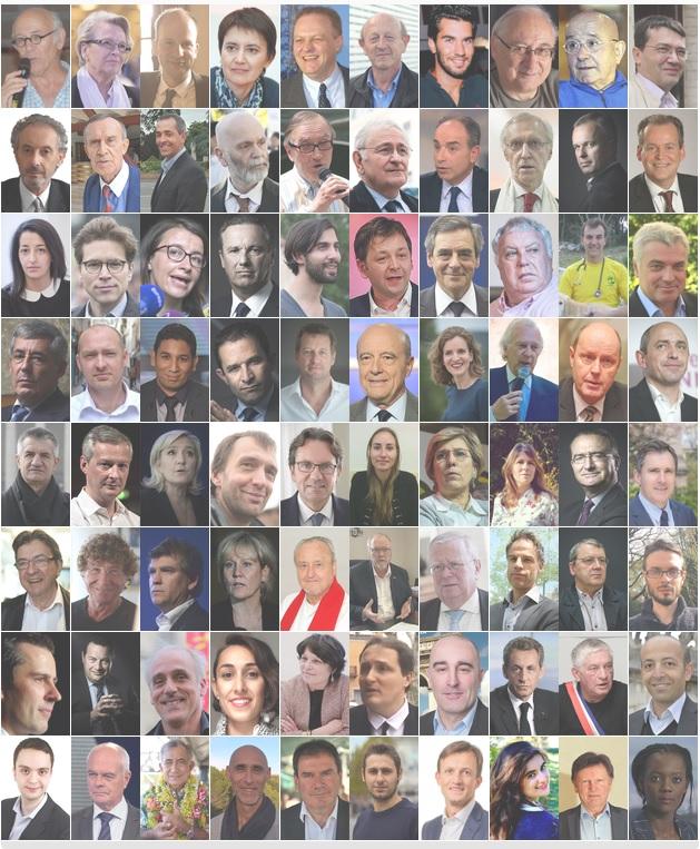 80 candidats