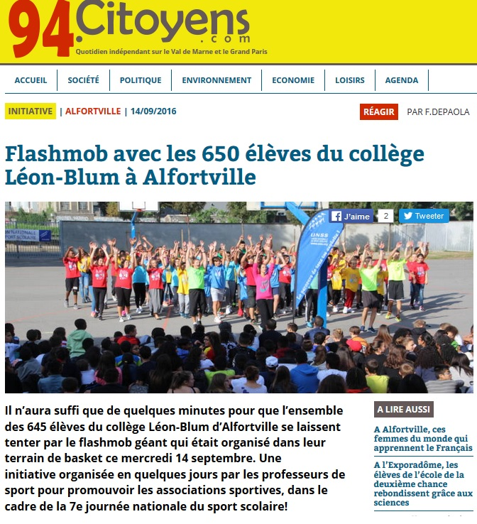 alfortville-flash-mob